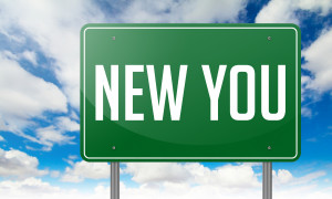 New You on Green Highway Signpost.