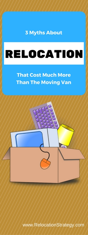 Moving Tips Video: 3 Relocation Myths That Will Cost You Money, TIme and Freedom