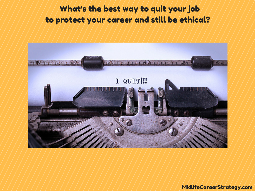midlife career quit your job